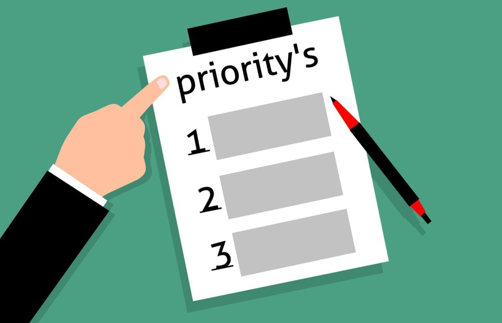 priorités temps d'écriture